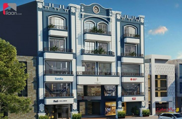202 ( sq.ft ) shop for sale ( second floor ) in Signature Heights, Dream Gardens, Lahore