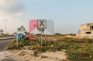4 kanal plot for sale in Block X, Phase 7, DHA, Lahore