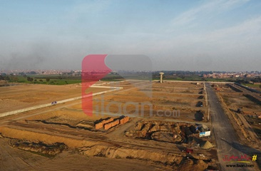 2 marla commercial plot for sale in Omega Residencia, Lahore