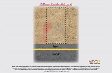 10 kanal land available for sale in Near Madrassah, Railway Road, Kahna Kacha, Lahore