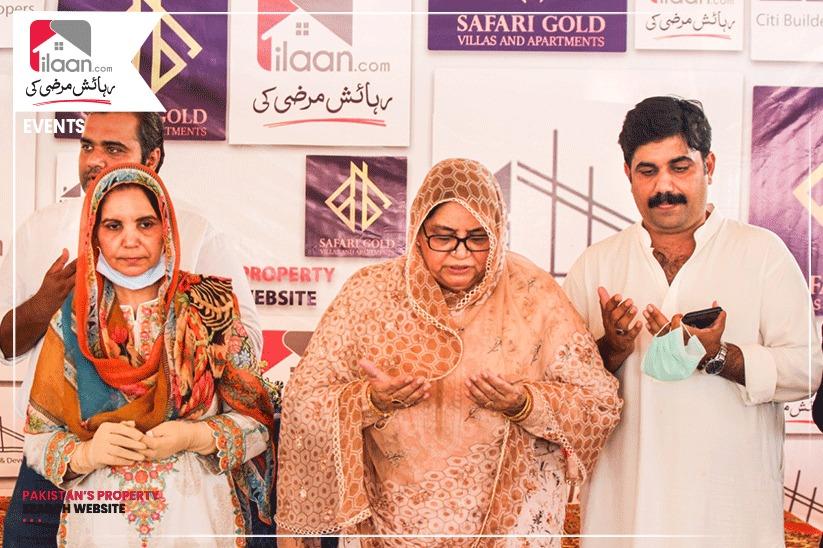 Ground Breaking Ceremony of Safari Gold Villas & Apartments