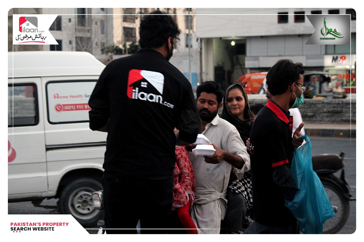 Feed Humanity - Iftar Initiative by ilaan.com Concluded in Lahore