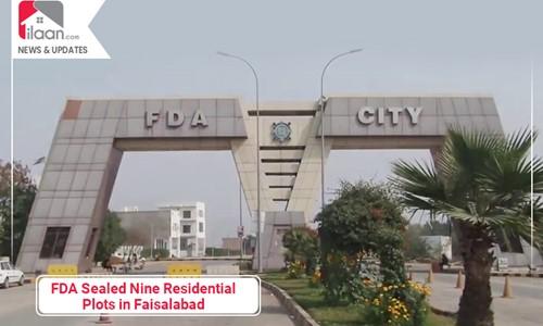 FDA Sealed Nine Residential Plots in Faisalabad