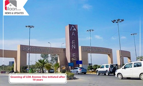 Greening of LDA Avenue One initiated after 18 years