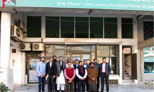 Media Coverage of ilaan.com Meeting the Newly Elected Management of Real Estate of DHA