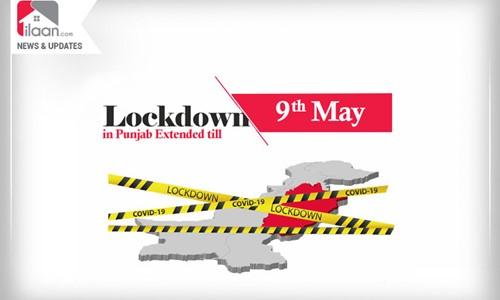 Lockdown in Punjab Extended till May 9