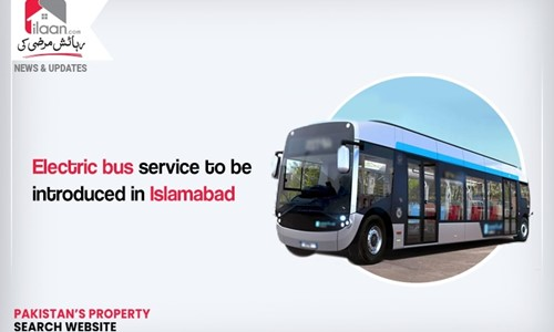 Electric bus service to be introduced in Islamabad