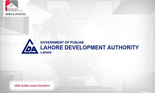 LDA makes mass transfers