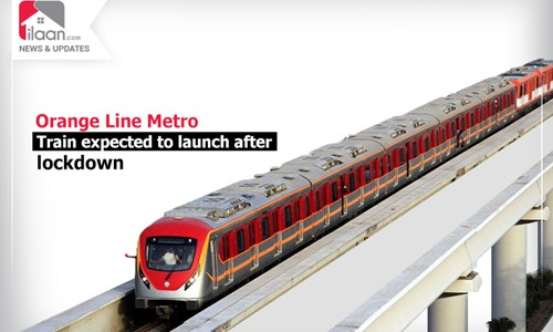 Orange Line Metro Train expected to launch after lockdown