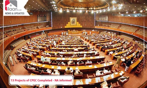 13 Projects of CPEC Completed - NA informed