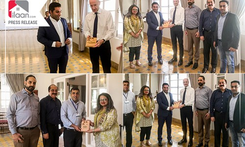 British Deputy High Commissioner Karachi Met Team ilaan.com – Agreed to Collaborate on Various Fronts