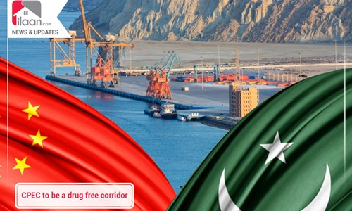 CPEC to be a drug free corridor