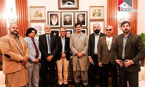 CM Sindh Murad Ali Shah Gives a Nod to Group of Realtors Association