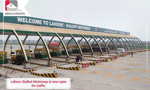 Lahore-Sialkot Motorway is now open for traffic
