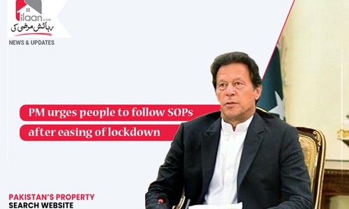 PM urges people to follow SOPs after easing of lockdown