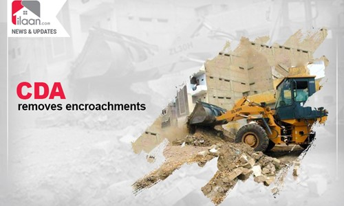CDA removes encroachments on state land