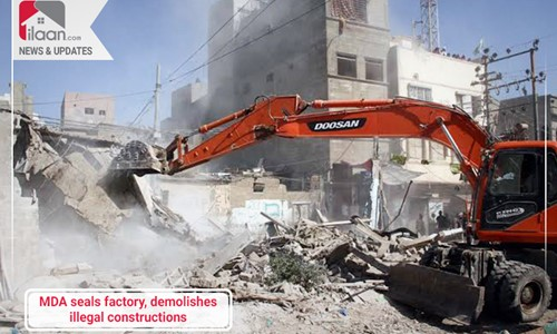 MDA seals factory, demolishes illegal constructions