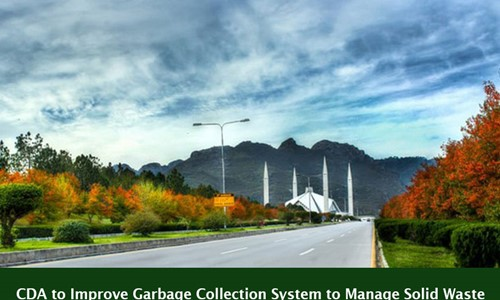 CDA to Improve Garbage Collection System to Manage Solid Waste of 600 Tons Daily