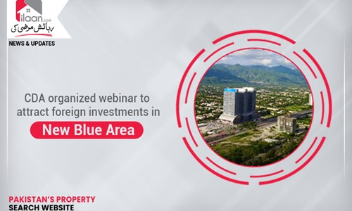 CDA organized webinar to attract foreign investments in New Blue Area