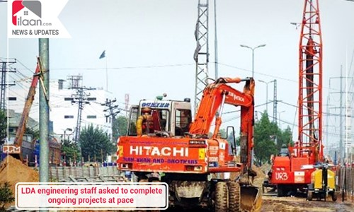 LDA engineering staff asked to complete ongoing projects at pace