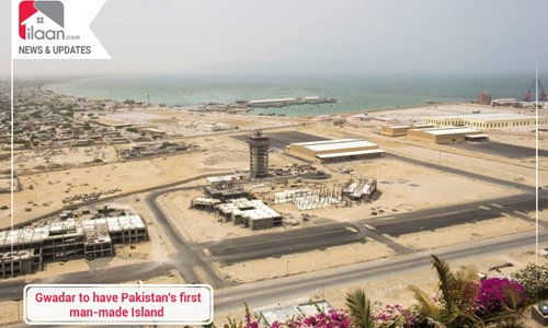 Gwadar to have Pakistan's first man-made Island