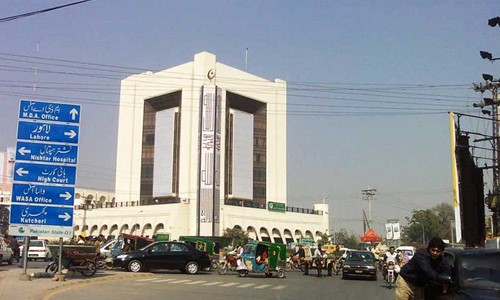 For Expansion of Kalma Chowk - Nawan Shehar Two Month Deadline has been Given