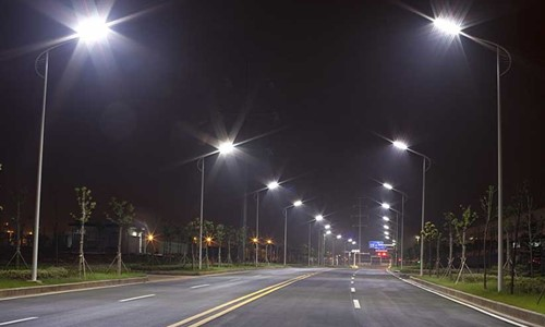 On Major 214 Roads of the City Streetlights to be Installed