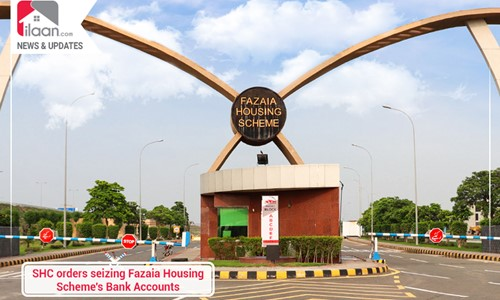 SHC orders freezing Fazaia Housing Scheme's Bank Accounts