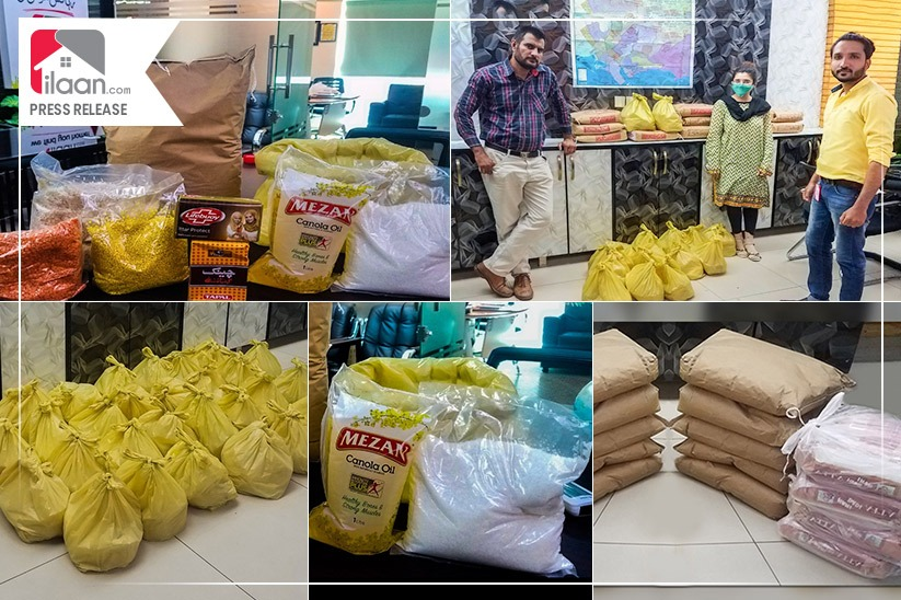Distribution of Ration Bags - Continuing with Our Social Responsibility in these Turbulent Times