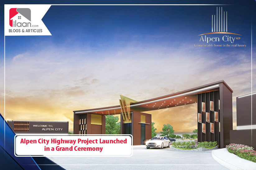 Alpen City Highway Project Launched in a Grand Ceremony