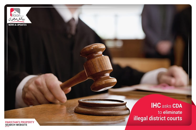 IHC asks CDA to eliminate illegal district courts