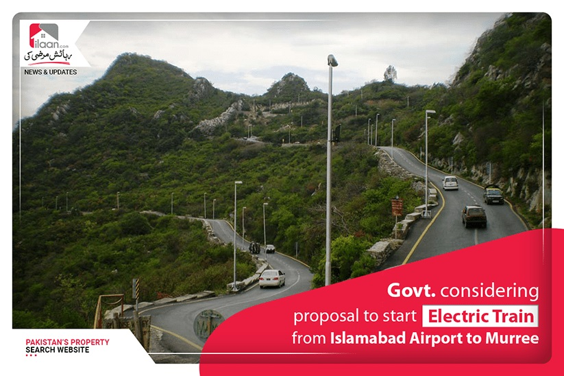 Govt. considering proposal to start electric train from Islamabad Airport to Murree