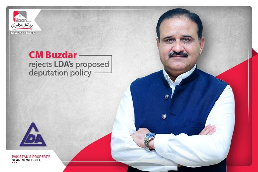 CM Buzdar rejects LDA's proposed deputation policy