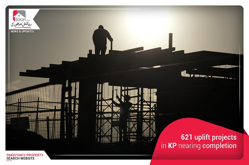 621 uplift projects in KP nearing completion