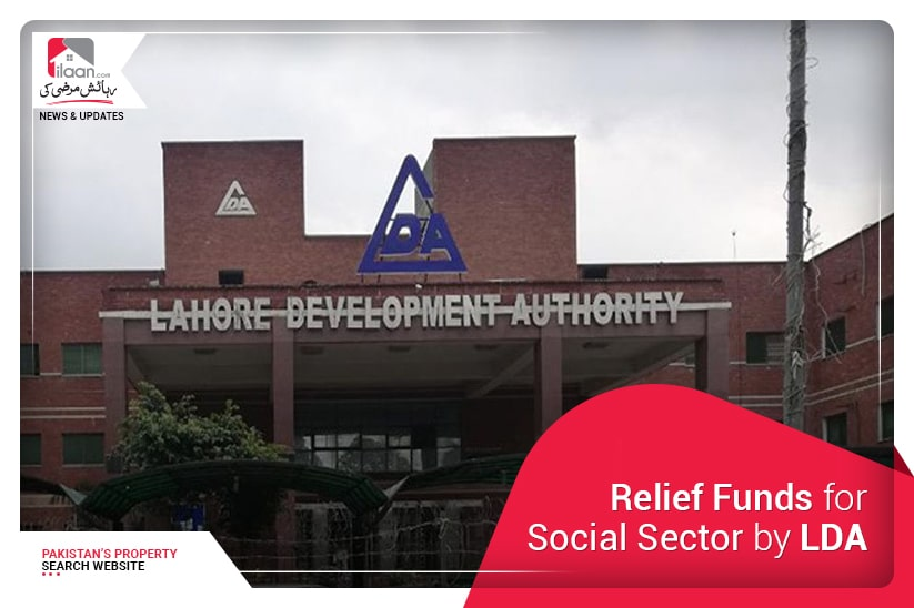 Relief Funds for Social Sector by LDA