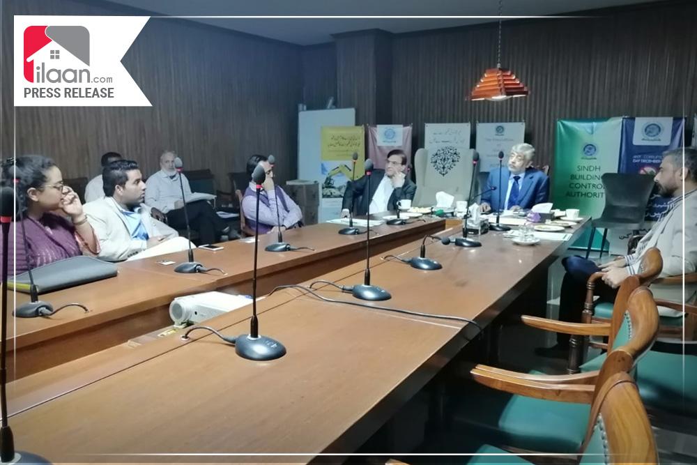 Team ilaan.com met Sindh Building Control Authority (SBCA) Officials