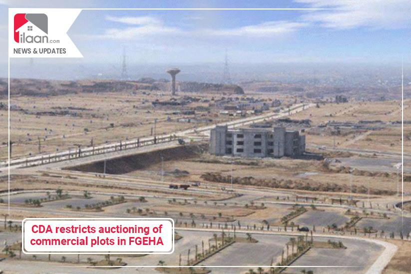 CDA restricts auctioning of commercial plots in FGEHA