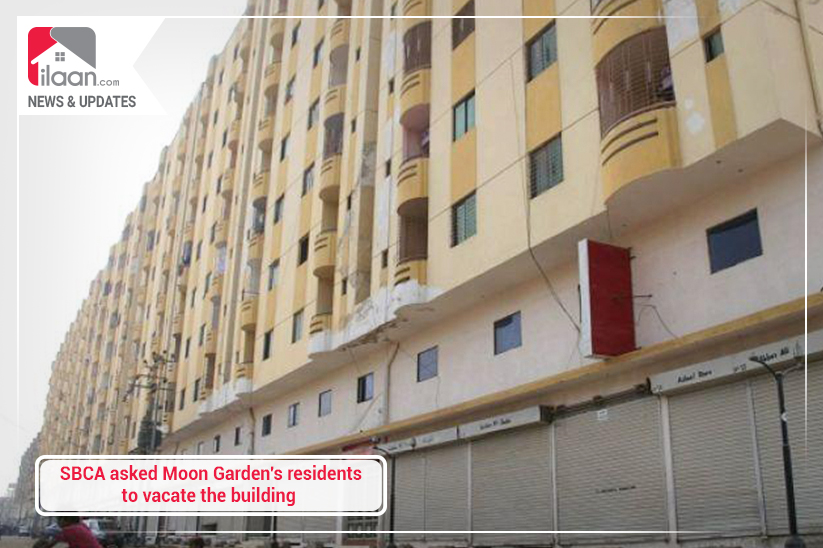 SBCA asked Moon Garden's residents to vacate the building