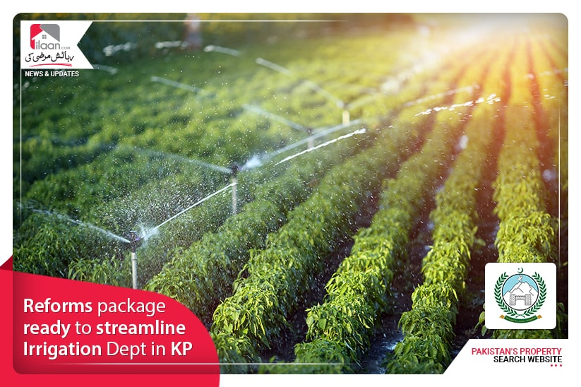 Reforms package ready to streamline Irrigation Dept in KP