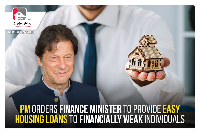 PM orders finance minister to provide easy housing loans to financially weak individuals