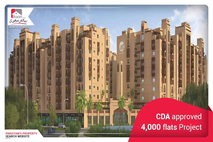 CDA approved 4,000 flats Project