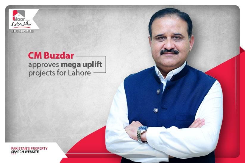 CM Buzdar approves mega uplift projects for Lahore