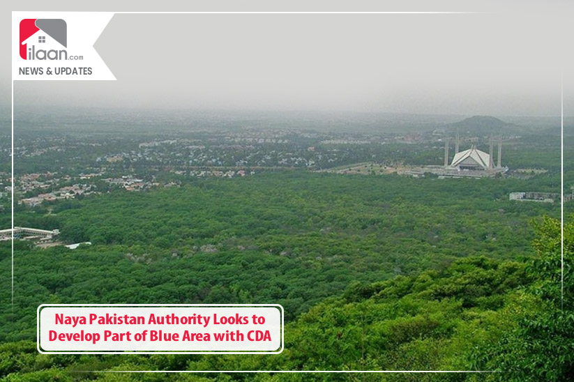 Naya Pakistan Authority Looks to Develop Part of Blue Area with CDA