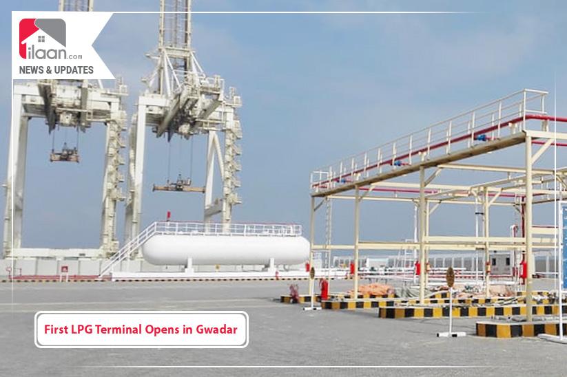 First LPG Terminal Opens in Gwadar