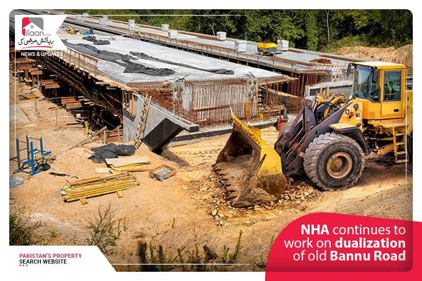 NHA continues to work on dualization of old Bannu Road