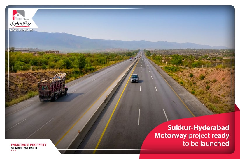 Sukkur-Hyderabad Motorway project ready to be launched
