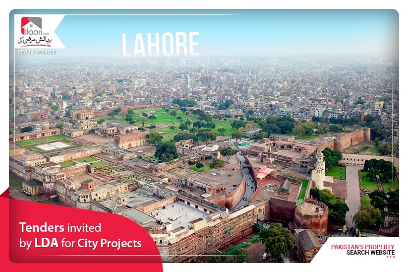 Tenders invited by LDA for City Projects