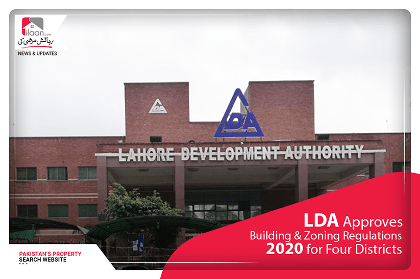 LDA approves Building & Zoning Regulations 2020 for four districts