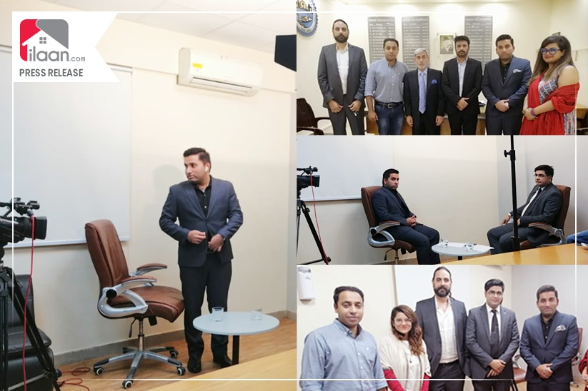 CEO ilaan.com Mian Omer Appeared on Corporate Lounge by Capital TV