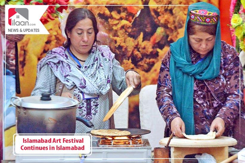 Islamabad Art Festival Continues in Islamabad